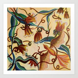 Floral- Musings 2 Art Print