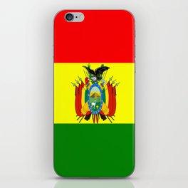 Flag of Bolivia iPhone Skin