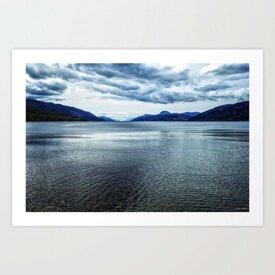Loch Ness Scotland Art Print