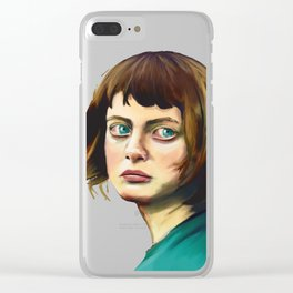The Missing Girl Clear iPhone Case