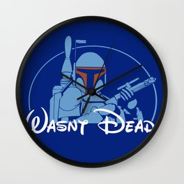 Survival of the Fettest Wall Clock