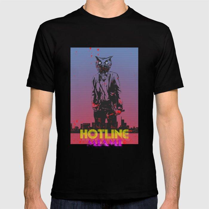 86b7a9e7e HOTLINE MIAMI T-shirt by bertrandnadal   Society6