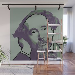 Charles Dickens Wall Mural