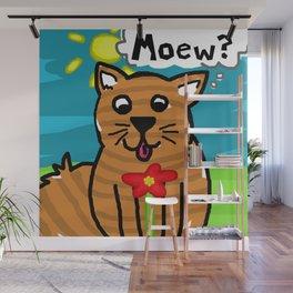 Kiddy Cat Wall Mural