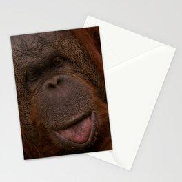 Orangutan Close-Up Stationery Cards
