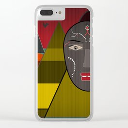 Africa . Clear iPhone Case