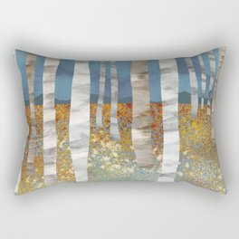 Autumn Fox Rectangular Pillow