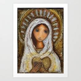 Blessed Mother Art Print