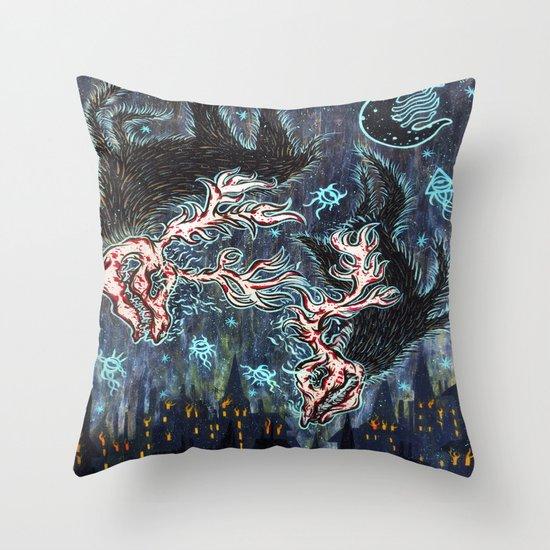 Fonta Fauna Throw Pillow