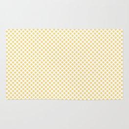 Lemon Drop Polka Dots Rug