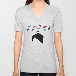 Origami Dreams Unisex V-Neck
