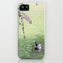 Wild Duck iPhone Case