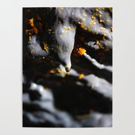 Lava tube cave Poster