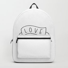 Love Your Neighbor Banner Backpack