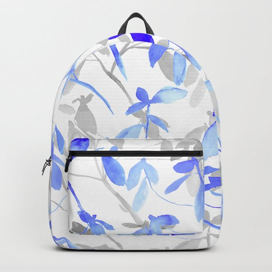 Premonition (Blue Grey) Backpack