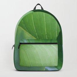Big Banana Leaves green Backpack