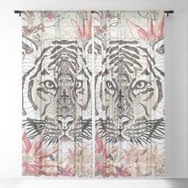 TIGER - WILD THING JUNGLE Sheer Curtain
