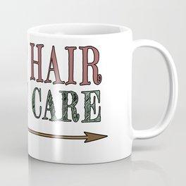 Camp Hair Don't Care - Camper Camping Vacation Coffee Mug