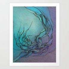 Abstract fantasy Art Print