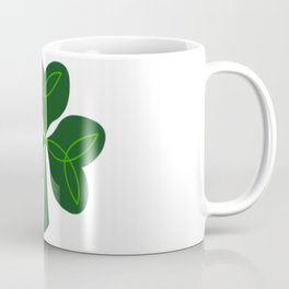 Celtic Clover Coffee Mug