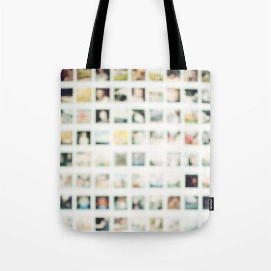 Polaroid Wall Tote Bag