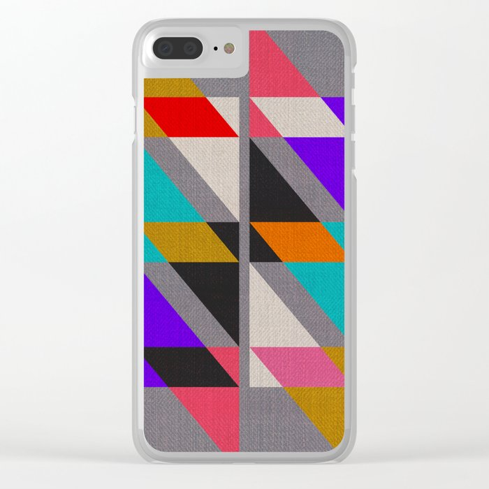 Fragments X Clear iPhone Case