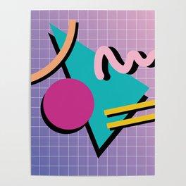 Memphis Pattern 10 - 90s - Retro Poster