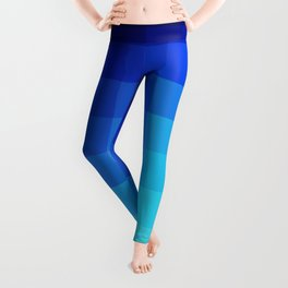 Abstract Deep Water Utukku Leggings