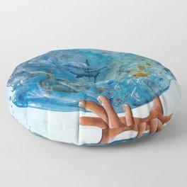 A Drop of the Ocean Floor Pillow