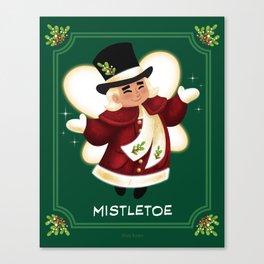 Christmas Mistletoe Canvas Print