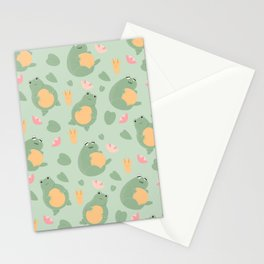 Phat Frogs Stationery Cards