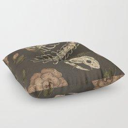 Snake Skeleton Floor Pillow