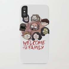Welcome to the Family iPhone X Slim Case