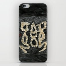 Hieroglyph iPhone & iPod Skin