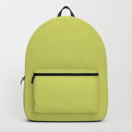 GRAPE GREEN Pastel Solid Color Backpack
