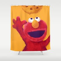 cookies Shower Curtains featuring Cookies 2 by Lime