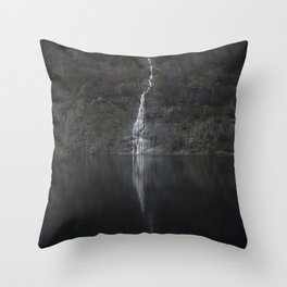 Waterfall (The Unknown) Throw Pillow