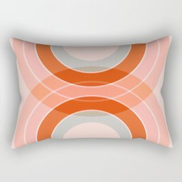 Cradle the moon - twilight Rectangular Pillow