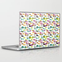 fishing Laptop & iPad Skins featuring Fishing by Mofa Barcelona
