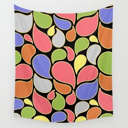 RAIN OF COLORS Wall Tapestry