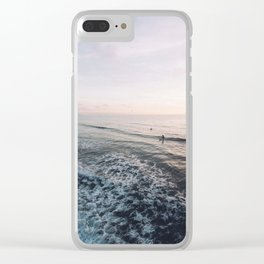Easy Night Clear iPhone Case