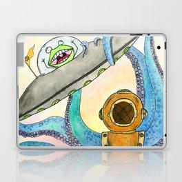 Alien vs Octopus Laptop & iPad Skin