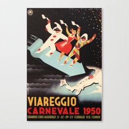 Viareggio Canvas Print