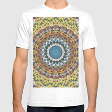 Elemental Spirits White MEDIUM Mens Fitted Tee