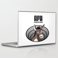 logo Laptop & iPad Skins featuring Logo by Guy Moments