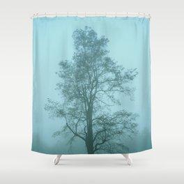 one tree shenandoah national park Shower Curtain