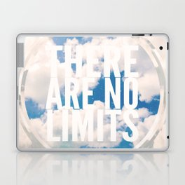 There Are No Limits Laptop & iPad Skin