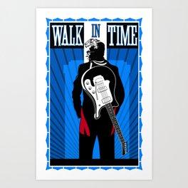 Walk in Time Art Print