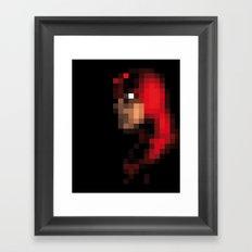 PIXELEON- Daredevil Framed Art Print