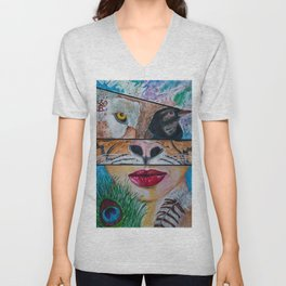 Shapeshifting Unisex V-Neck